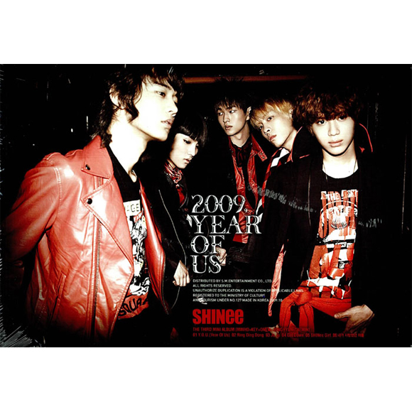 SHINee - Mini Album Vol.3 [2009, Year Of Us]
