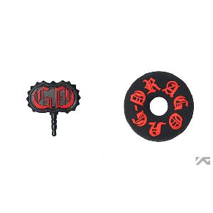 [YG Official MD] G-Dragon One Of A Kind Earcap & Winder Set (Red)