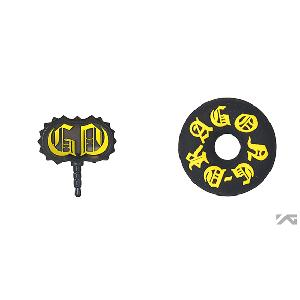 [YG 商品] G-Dragon one of a kind Earphone String Winder/Earcap Set (Gold)