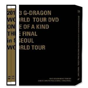 [DVD] 2013 G-DRAGON WORLD TOUR DVD [ONE OF A KIND THE FINAL in SEOUL+ WORLD TOUR] (+Postcard3p)