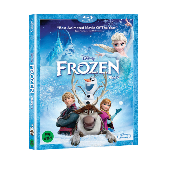 [Blu-Ray] Frozen (1DVD)