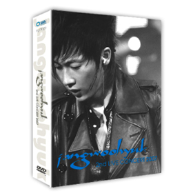 [Music DVD Sales] JANG WOO HYUK  :  2ND CONCERT 2007(2disc) + Concert Color Photo Book(52p)