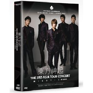 [DVD] Dong Bang Shin Ki - 3RD ASIA TOUR CONCERT [MIROTIC] [3disc + 68p Photobbok]