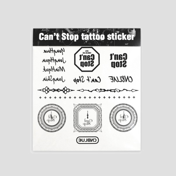 CNBLUE Can`t Stop - TATTOO STICKER