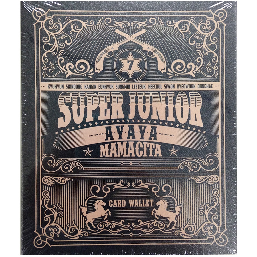 Super Junior - MAMACITA CARD WALLET