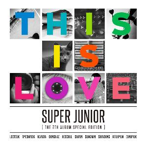 Super Junior - Vol.7 Special Edition [This is Love]