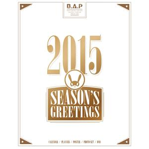 B.A.P - 2015 SEASON GREETING 年历套组