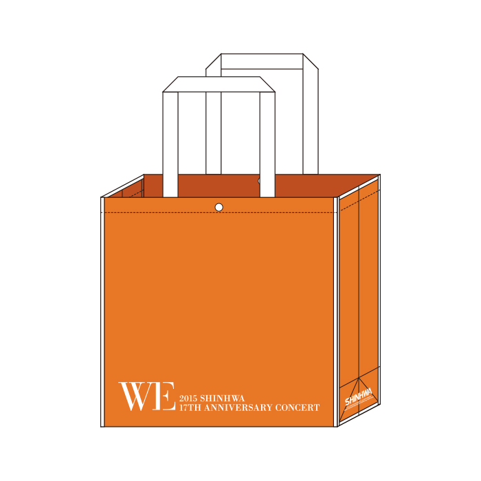 2015 SHINHWA [WE] - SHOPPING BAG [2015 SHINHWA 17TH ANNIVERSARY CONCERT]