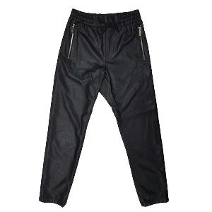 NONA9ON - [MEN'S] PERFORATED FAUX LEATHER SWEAT PANTS