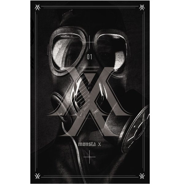 MONSTA X - Mini Album Vol.1 [TRESPASS]