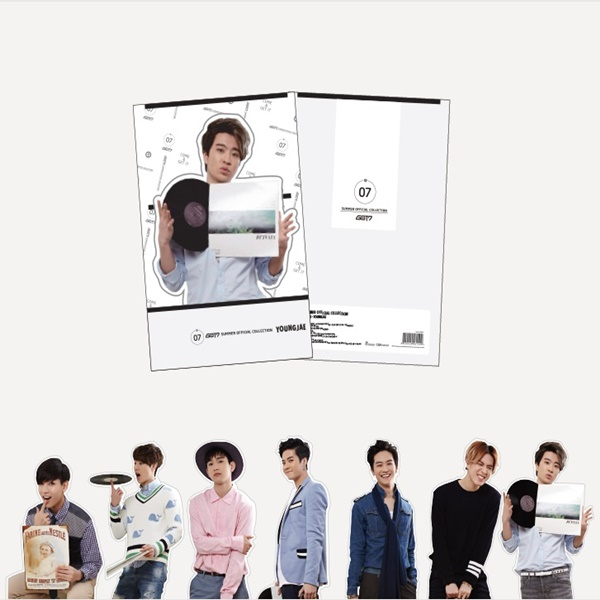 GOT7 - CUT OUT CARD [Summer Official Goods]