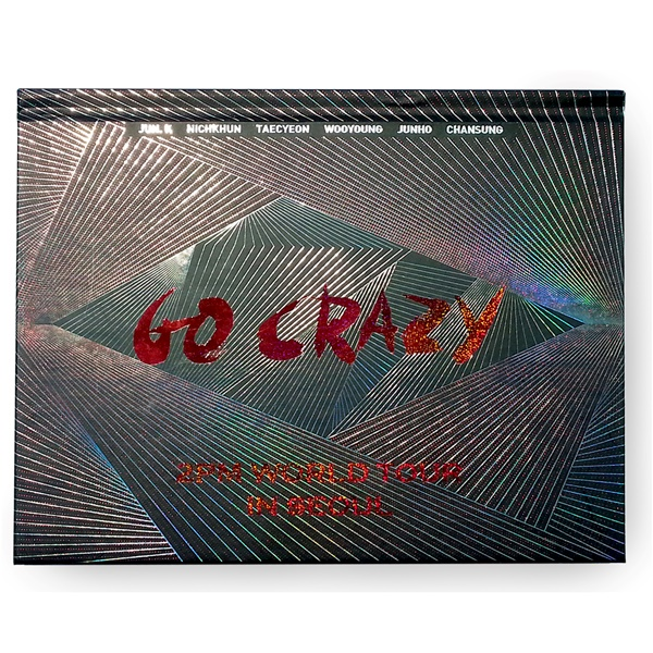 [DVD] 2PM WORLD TOUR 'GO CRAZY' in SEOUL (2DISC+写真200p)