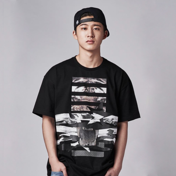 [iKON BOBBY, B.I] NONA9ON - [MEN'S] NN9N GRAPHIC T-SHIRT