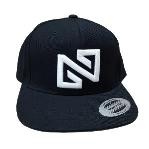 NONA9ON - [ACC] BASIC LOGO SNAPBACK (BK/WH)