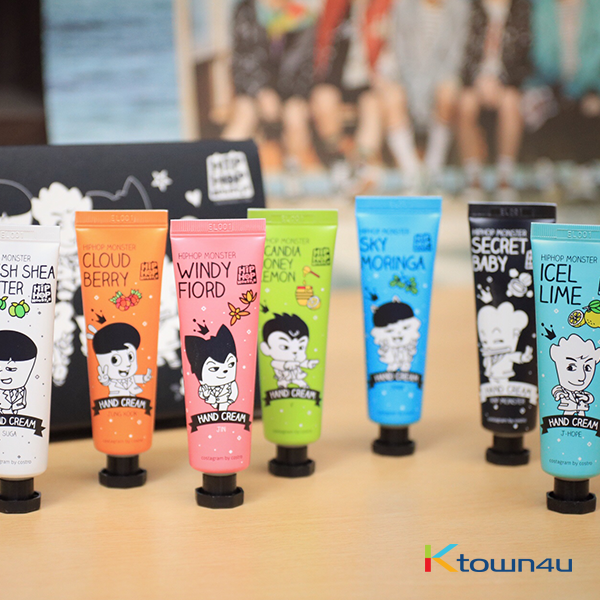 [Costagram][BTS 防弹少年团] HIP HOP MONSTER HAND CREAM 护手霜 7支盒装