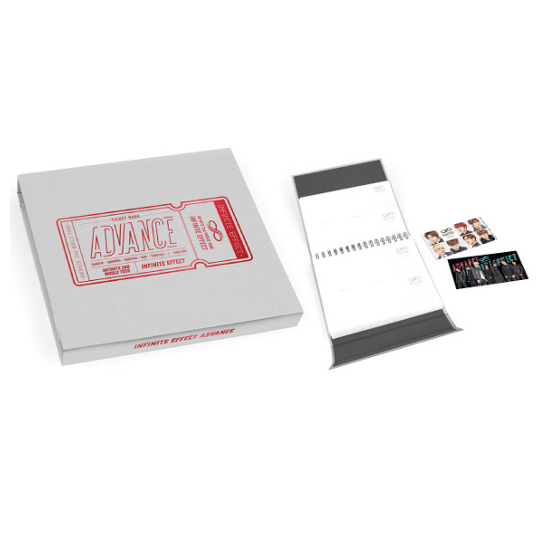 INFINITE - TICKET BOOK [INFINITE 2nd WORLD TOUR - INTINITE EFFECT ADVANCE]