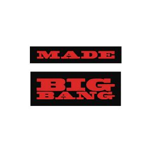 BIGBANG - PATCH SET1 (MADE) [BIGBANG WORLD TOUR MADE FINAL IN SEOUL]