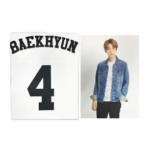 EXO - T-SHIRT + PHOTO (BACKHYUN) [EXOPLANET #2]
