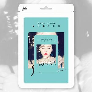 Poster + T-ara : HYOMIN - 2nd Mini Album [SKETCH] (KINO CARD ALBUM)