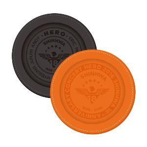 SHINHWA - LEATHER COASTER SET [2016 SHINHWA 18th ANNIVERSARY CONCERT HERO]