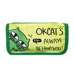 OKCAT - Pencil Case ver.3 (Green) (2PM:Taec Yeon)