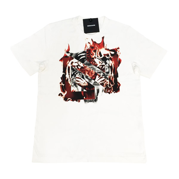 NONA9ON - [MEN'S] TIGER ON FIRE GRAPHIC T-shirts [16FW]