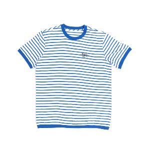 [SUMMER] iKON - STRIPE BLUE T-SHIRTS