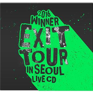 WINNER - 2016 WINNER EXIT TOUR IN SEOUL LIVE CD