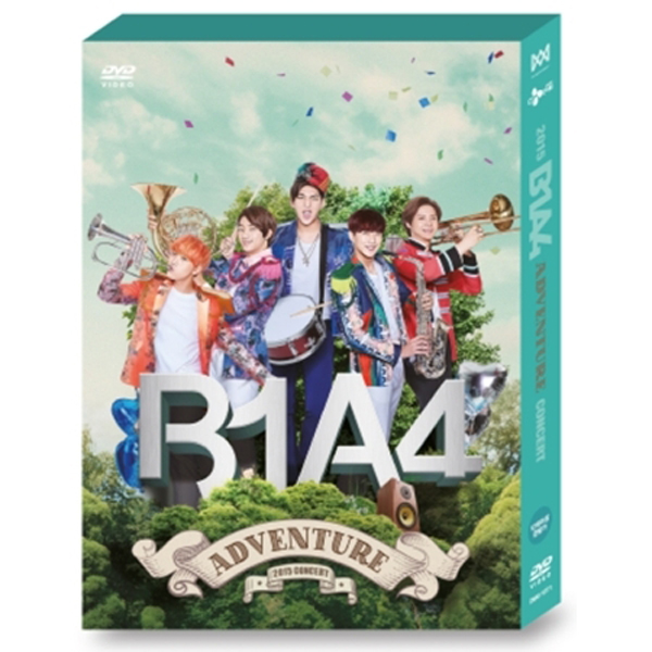 [Unpacked] [DVD] B1A4 - B1A4 2015 ADVENTURE DVD (Only ship out Album / Not include poster, special gift)
