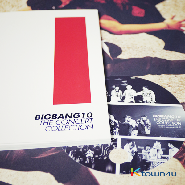 [写真集] BIGBANG - BIGBANG 10TH THE CONCERT COLLECTION (限量版) [演唱会现场直接购入]