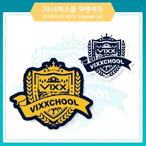 VIXX - Wappen Set [2016 VIXXCHOOL MD]