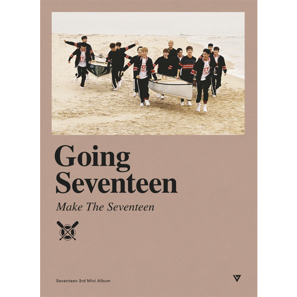 Seventeen - Mini Album Vol.3 [Going Seventeen] (Make The Seventeen (C) ver.)