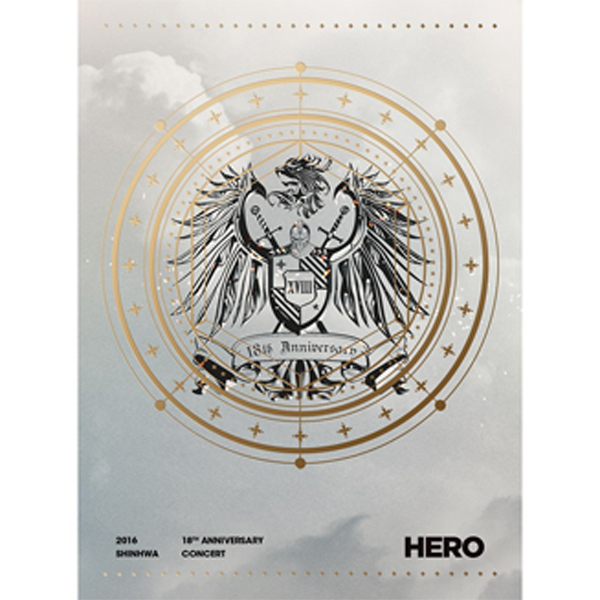 [DVD] SHINHWA - 2016 SHINHWA 18TH ANNIVERSARY CONCERT HERO DVD