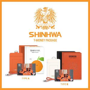 SHINHWA - T-MONEY PACKAGE (10,000 Limited Edition)