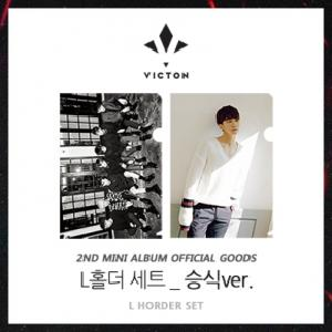 VICTON -  L HOLDER SET (Seung sik ver.) [2nd Mini Album Offcial Goods]