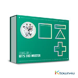(First press) [DVD] BTS - BTS 3rd MUSTER [ARMY.ZIP+] DVD + postcard
