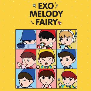 EXO - EXO MELODY FAIRY YELLOW PACKAGE (Limited Edition)