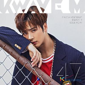 KWAVE M ISSUE NO.47 (GOT7 : Jackson, April ,Imfact, Victon)