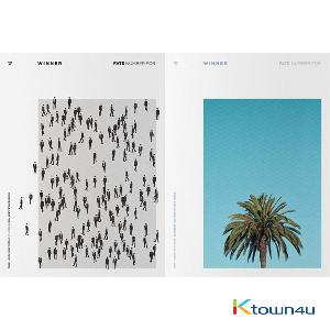[SET][2CD + 2POSTER SET] WINNER  - Single Album [FATE NUMBER FOR] (FOR SEOUL ver.) + (FOR LA ver.)