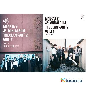 MONSTA X - Mini Album Vol.4 [THE CLAN 2.5 PART.2 GUILTY] (Random Ver.)