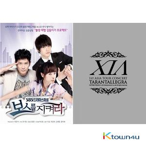 [SET] [DVD] XIA 1st Asia Tour Concert [Tarantallegra] Photo Book, DVD (Code All) + [DVD] Defend A Boss - SBS Drama (7 DVD)(JYJ: Jae Joong)