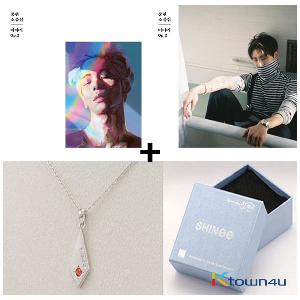 [SET] SHINee : JongHyun - SHINee Official necklace (JONG HYUN) + Album [Story Op.2] (Random ver.) + Poster*1P