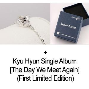 [SET] Super Junior - Super Junior Official Bracelet + Kyu Hyun - Single Album [The Day We Meet Again] (First Limited Edition)
