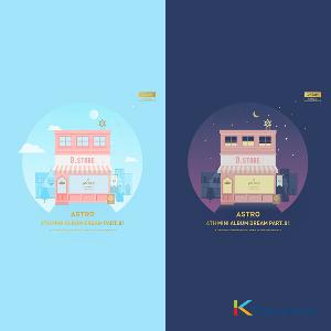 [SET][2CD + 2POSTER SET] ASTRO - Mini Album Vol.4 [Dream Part.01] (DAY ver.) + (NIGHT ver.)