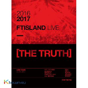 [DVD] FTISLAND - 2016-2017 FTISLAND LIVE [THE TRUTH] DVD