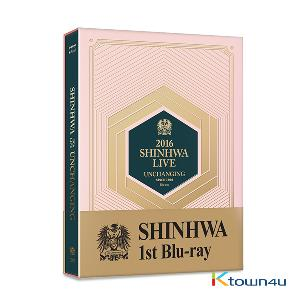 [Blu-Ray] SHINHWA - 2016 SHINHWA LIVE UNCHANGING Blu-ray