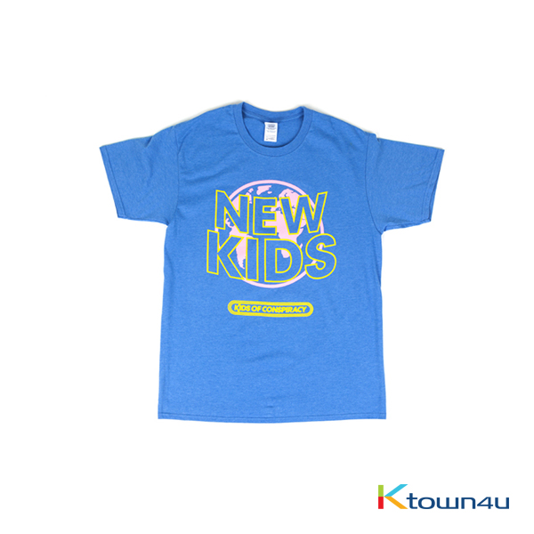 [NEWKIDS] iKON - T-SHIRTS TYPE 3 (BLUE)