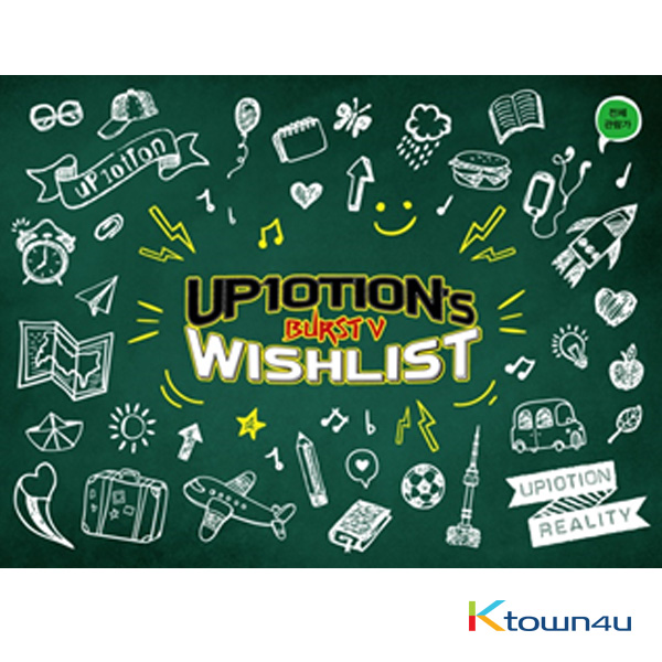 [DVD] UP10TION -  UP10TION`s WISHLIST [BURST V]