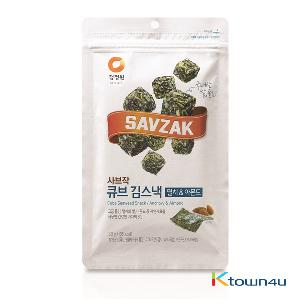 [chungjungone] Cube Seaweed Snack anchovy Almond 30g