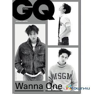 GQ KOREA 2017.11 (Wanna One)